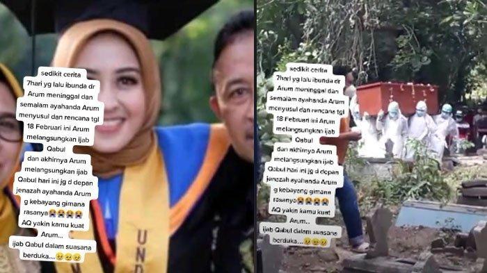 Sosok Arum, Gadis Blora yang Viral di TikTok Menikah Depan Jenazah Ayah: 6 Hari Sebelumnya Ibu Wafat