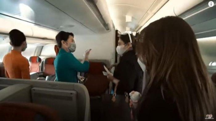 Detik-detik Rombongan Ashanty Diminta Turun dari Pesawat, Bolak-balik 3 Kali Sampai Ketakutan