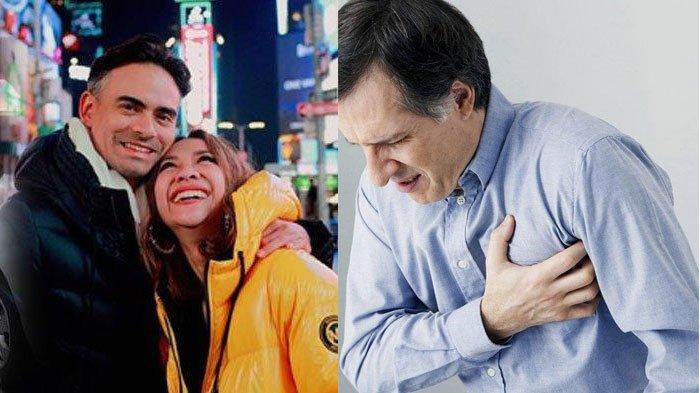 Ashraf Sinclair Suami Bunga Citra Lestari Meninggal Kena Serangan Jantung, Ini Penyebab & Gejalanya