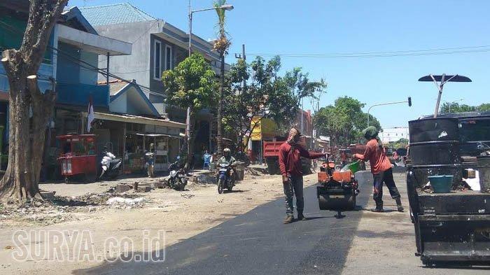 Mulai Diaspal, Pedagang Karang Menjangan Surabaya Belum Dapat Tempat Relokasi