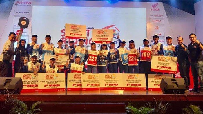 Instruktur MPM Borong Piala di Astra Honda Safety Riding Instructors Competition 2019