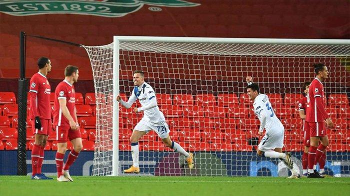 Hasil Liverpool vs Atalanta: Skor Akhir 0-2, The Reds ...