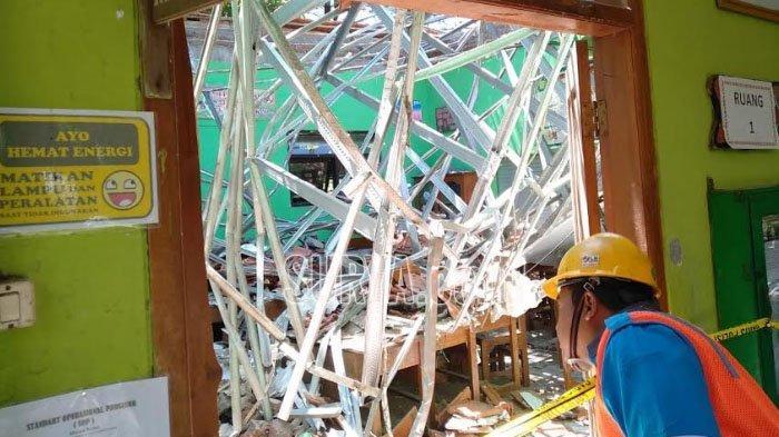 PNS Dindik Kota Pasuruan Jadi Tersangka Dugaan Korupsi Rehab SDN Gentong yang Akhirnya Ambruk