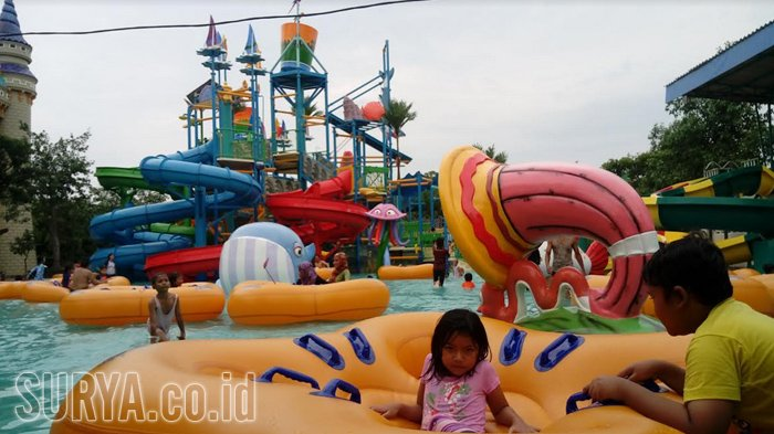Harga Tiket Atlantis Land di Kenjeran Park Surabaya, Cocok untuk Bermain Wahana Air Bersama Keluarga