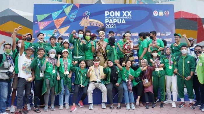 Panjat Tebing Jatim Juara Umum PON XX Papua, Emas Terakhir dari Nomor Combine Perorangan Putra