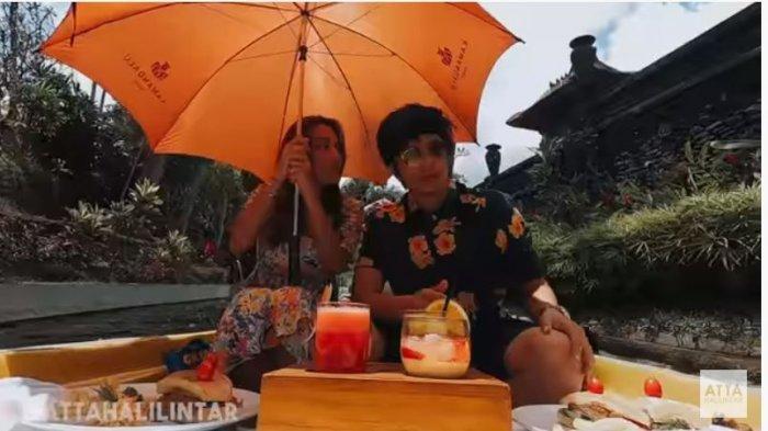 Aurel Hermansyah Ngotot Minta Honeymoon di Italia, Ekspresi Aneh Atta Halilintar Jadi Sorotan
