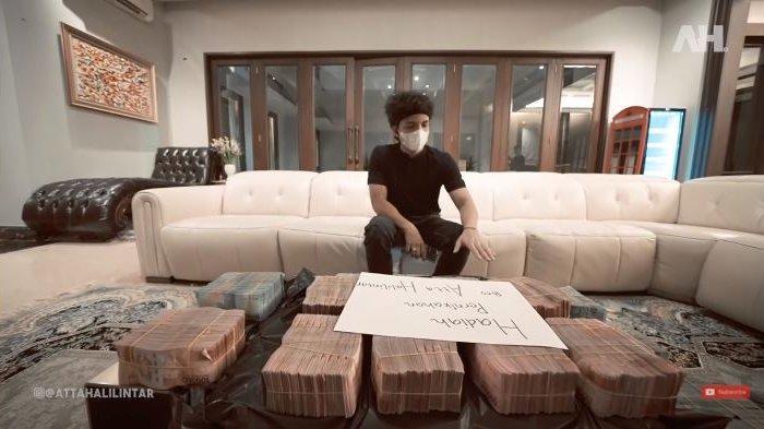 Janji Atta Halilintar ke Putra Siregar yang Kirim Uang Segepok dalam Plastik Sampah, Tak Main-main