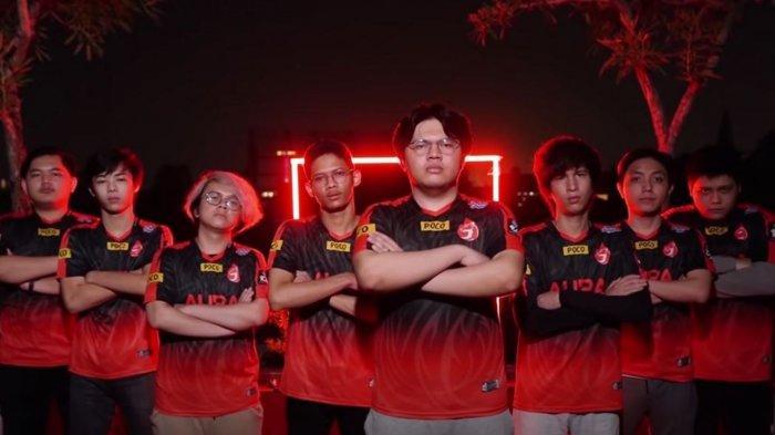 Hasil MPL Season 8: AURA Fire Menyala! Meta Tank Jungler Taklukkan Onic Esports