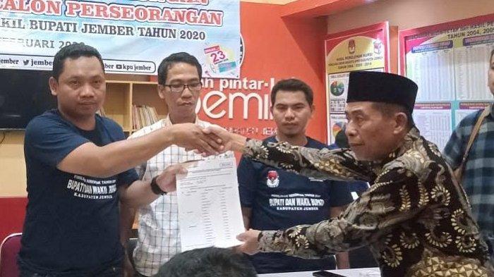 KPU Jember Tolak Pendaftaran Calon Perseorangan Djamas
