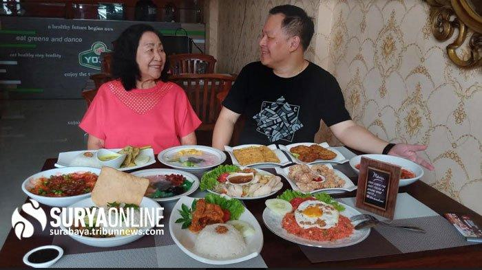 Kuliner Surabaya Terbaru: Kedai Ayam Bumbu Rujak Mak Mami Jalan Dharmahusada 69B, Masakan Jawa China
