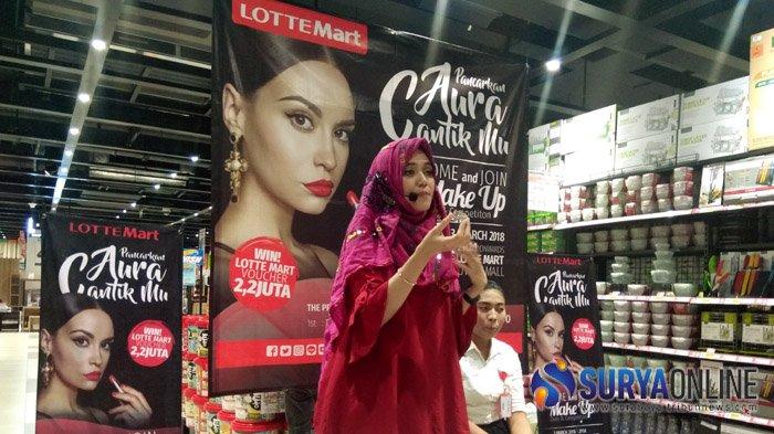 Lotte Mart Gelar Acara Tutorial dan Kompetisi Make-Up untuk Pengunjung