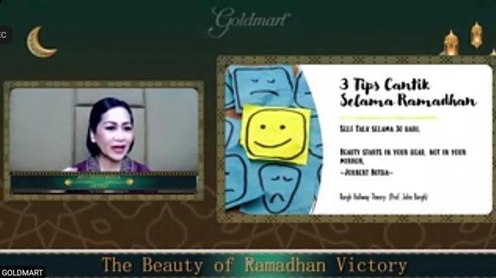 Tetap Cantik Selama Ramadan, Artis Senior Ayu Dyah Pasha Jalani 3 Tips Ini