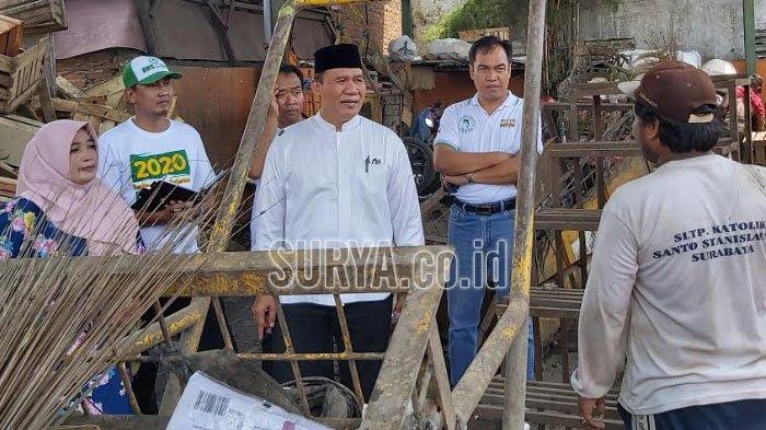 Blusukan di Pasar Sepanjang Kabupaten Sidoarjo, Bambang Haryo Singgung Pentingnya Kebersihan