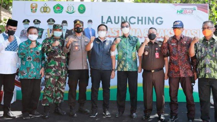 Pasar Tangguh Bencana Covid-19 Ketiga Kabupaten Pamekasan, Lokasinya di Pasar Waru