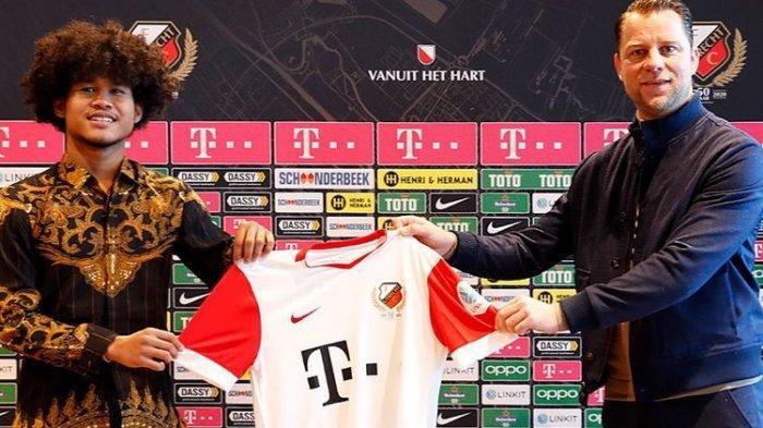 Si Kribo Bagus Kahfi Resmi Gabung Klub Belanda FC Utrecht, Percaya Diri Kenakan Batik