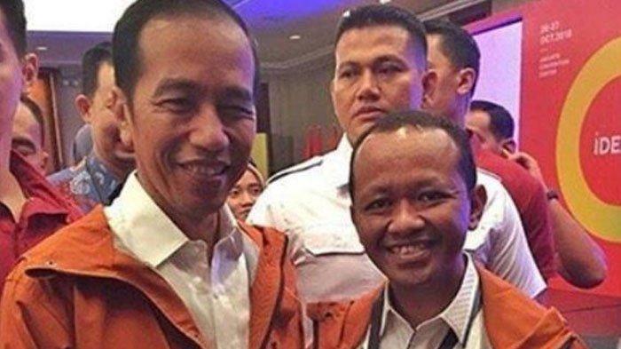 Bahlil Lahadalia bersama Presiden Jokowi