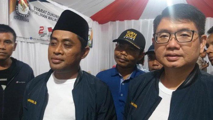 Jumlah KTP DukunganPaslon M Sholeh-Taufik dan M Yasin-Gunawan di Pilwali Surabaya jelang Penutupan