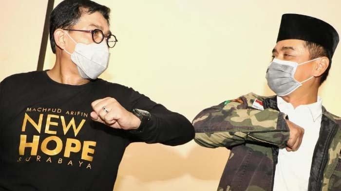 Jaring Kekuatan Baru, Machfud Arifin Optimistis Sejahterakan Masyarakat Surabaya