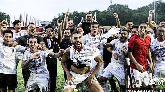 Bali United Pastikan Juara Liga 1  2019, Pesta di Kandang Semen Padang Tanpa Piala