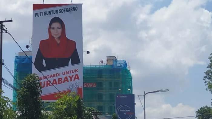 Balihonya Mulai Bermunculan di Kota Pahlawan, Ini Jawaban Puti Soal Pilwali Surabaya 2020