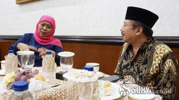 Bambang DH Menegaskan Tak Bahas Soal Pilwali Surabaya Saat Bertemu Gubernur Khofifah