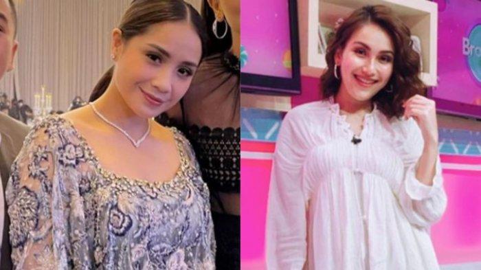 Bandingkan Gaya Nagita Slavina & Ayu Ting Ting saat Kondangan, Istri Raffi Ahmad Tampil Berkelas