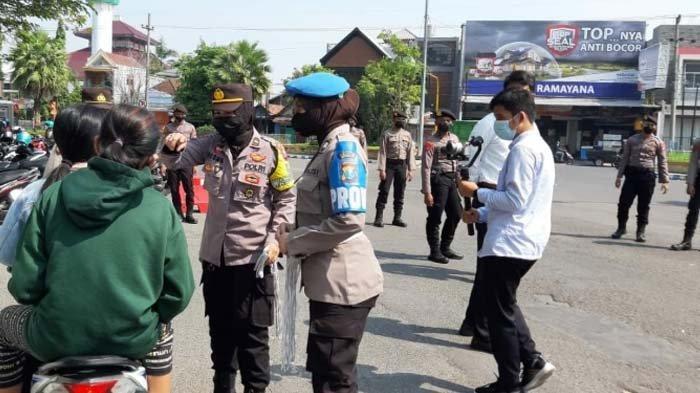 Kasus Sembuh Covid-19 Meningkat dan Kasus Positif Menurun, Polres Bangkalan Gencar Operasi Yustisi