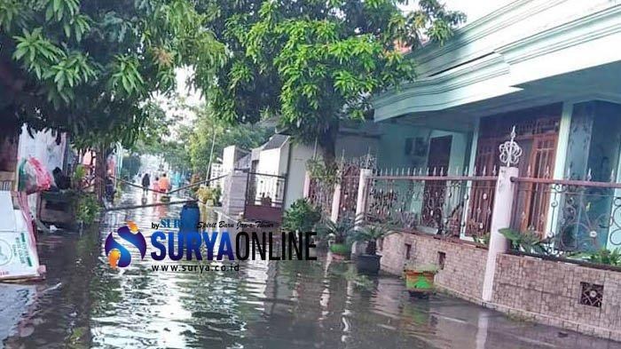 Curah Hujan Tinggi Selama 3 Hari, 2.000 Rumah di Babat Lamongan Tergenang Banjir