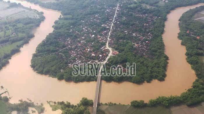 Cerita Warga Desa di Kabupaten Madiun saat Air Sungai Meluap, Lalu Rendam Jalan Tol