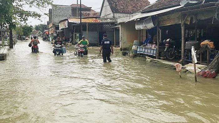 Musibah Banjir Berkepanjangan di Lamongan, 62 Desa di 5 Kecamatan Kembali Terendam Air