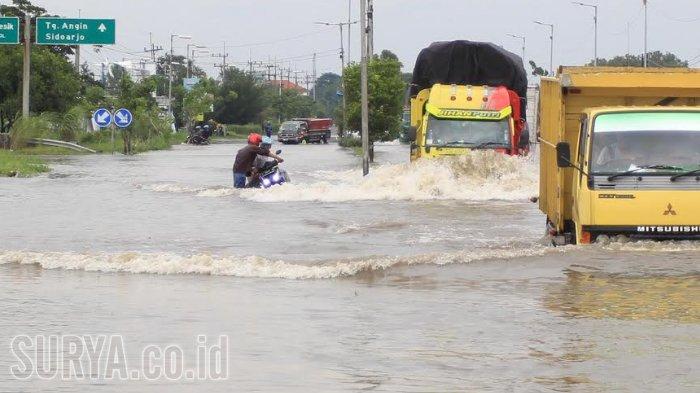Antisipasi Banjir di Porong,PPLS Siapkan 3 Kolam Kapasitas 21.000 Meter Kubik, Solusi Lain begini