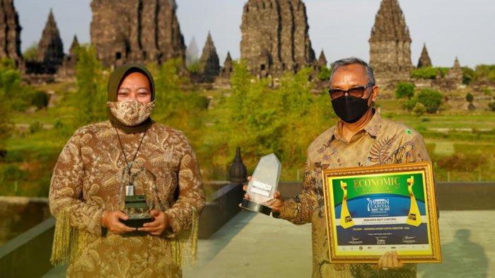 Bank Jatim Raih 2 Penghargaan di Ajang Indonesia Human Capital Award VII 2021