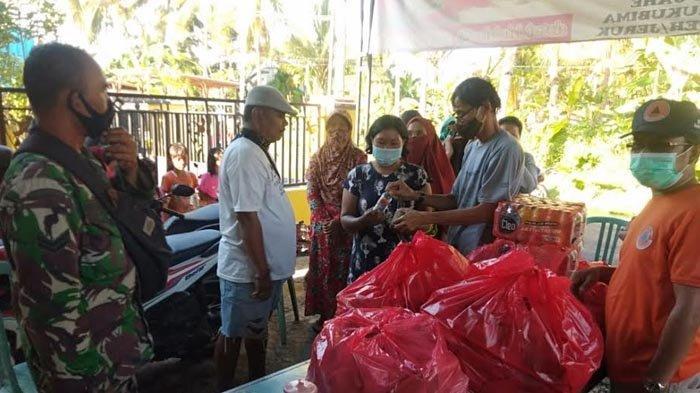 Kawasan Perkotaan Terendam Banjir, BPBD Banyuwangi Bantu Air Bersih dan Makan untuk Warga Terdampak