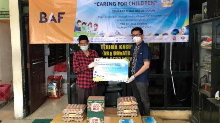 Peringati HUT ke-24, BAF Gelar CSR Caring for Children Hingga Penghijauan Lingkungan