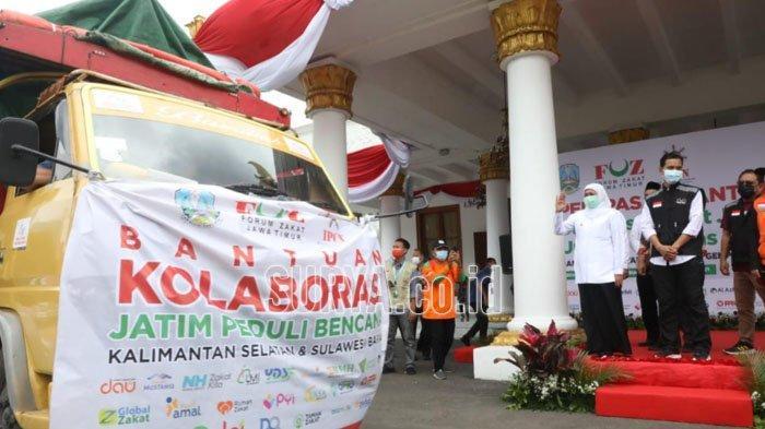 Warga Jatim Kirim Bantuan Zakat Senilai Rp 300 Juta untuk Korban Banjir Kalsel dan Sulbar