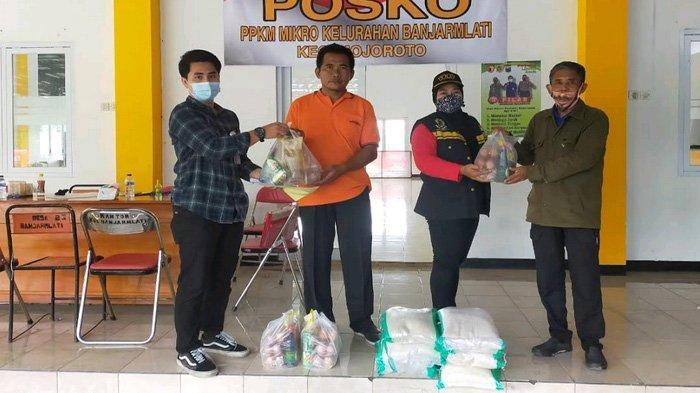 Bantu Warga Isolasi Mandiri, Pemkot Kediri Salurkan 34 Paket Sembako