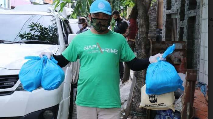 Cak Machfud Kirimkan Bantuan Sembako untuk Warga Sawahan Surabaya