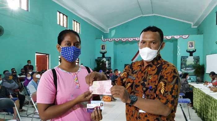 Pemkot Kediri Cairkan Bansos Kartu Santunan Hadapi Bencana Tunai