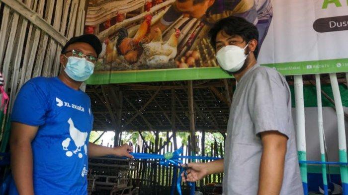 XL Axiata Donasi 1.000 Ayam Petelur di Lamongan, Ini Tujuannya