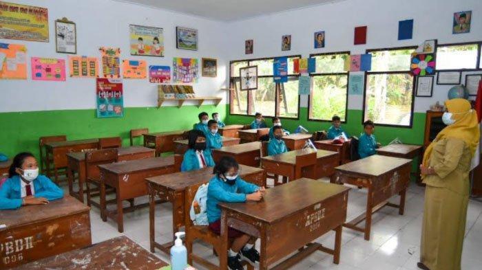 1.150 Sekolah di Banyuwangi mulai Pembelajaran Tatap Muka Terbatas di Masa Pandemi