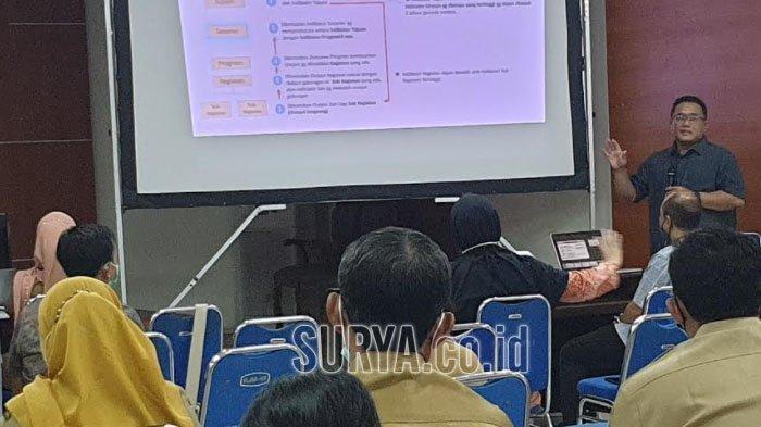 Bappeda Nganjuk Gelar Orientasi Perubahan RPJMD dan Renstra Perangkat Daerah Terintegrasi