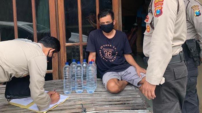 Dilaporkan Warga, Warung Penjual Miras Arak Jowo di Kediri Digrebek Polisi