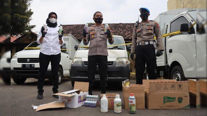 Home Industri Pupuk Cair Oplosan Ilegal di Kota Kediri Digerebek Polisi, Raup Keuntungan Rp 40 Juta