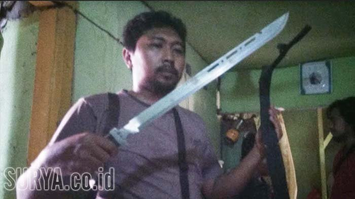 KRONOLOGI Anggota DPRD dari Partai Berkarya Dibacok Tetangga Gegara Suara Bising Knalpot