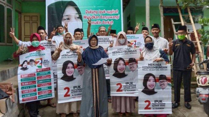 Dukungan Terus Mengalir, Barikade Gus Dur Ingin Ipuk-Sugirah Teruskan Kemajuan Banyuwangi