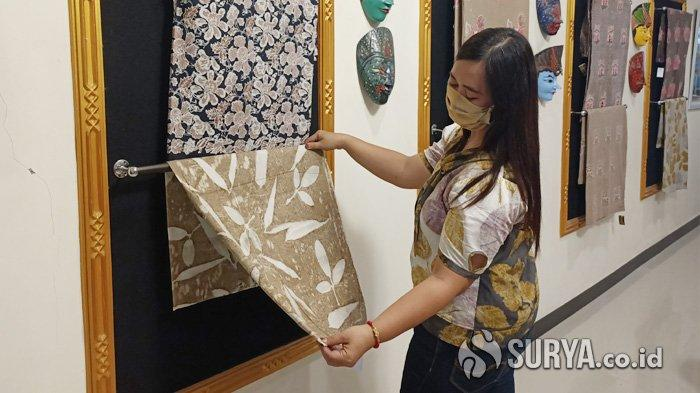 Mengenal Batik Ecoprint yang Digemari Lintas Generasi Asal Wates Kabupaten Kediri