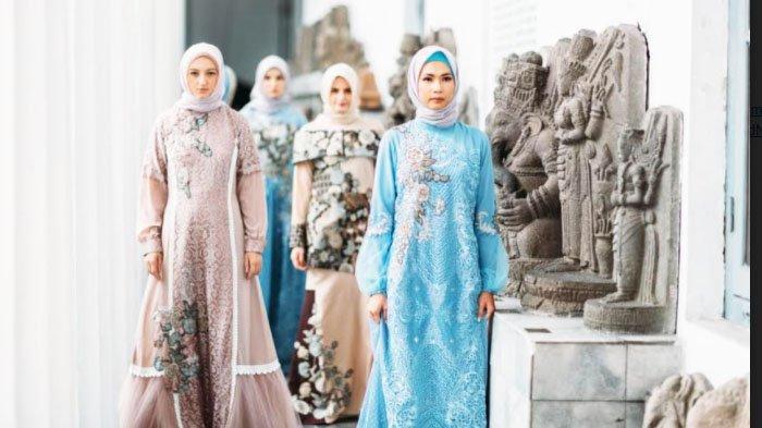 Batik Tulis Daerah Tren Busana Muslim 2021