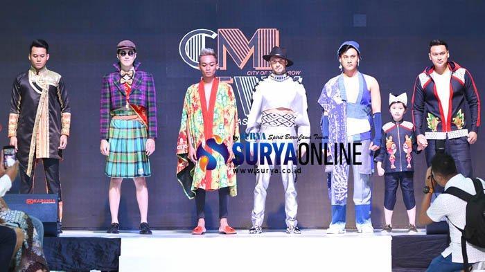 Galeri Foto Cito Mens Fashion Week 2019 yang Digelar PKK dan Dekranasda Nganjuk