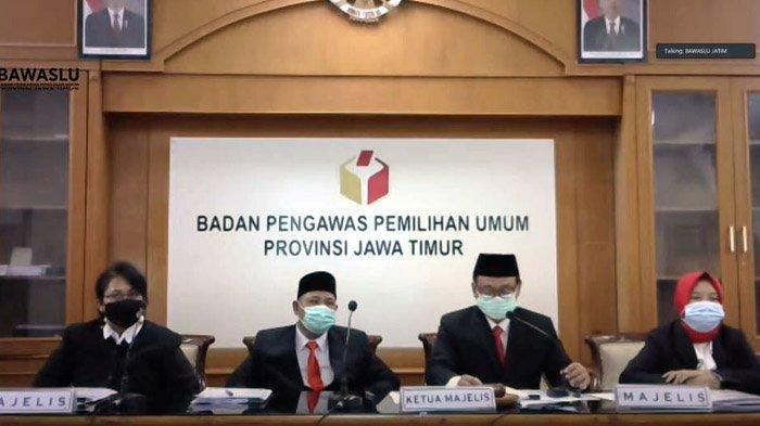Bawaslu: Eri-Armuji Tidak Lakukan Money Politik di Pilwali Surabaya 2020, Akan Jadi Alat Bukti di MK