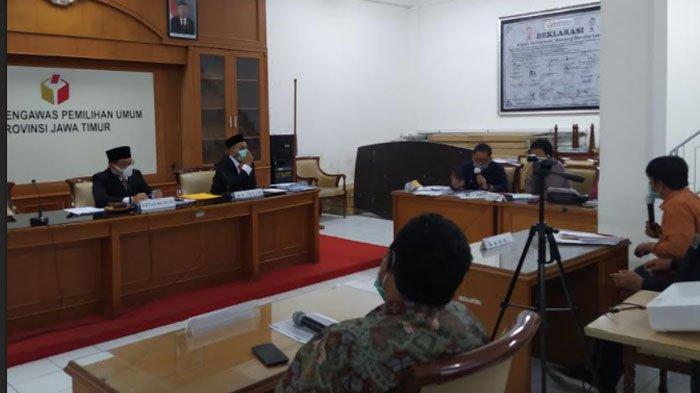 Bawaslu Jatim Sidangkan Dugaan Pelanggaran TSM di Pilkada Surabaya 2020